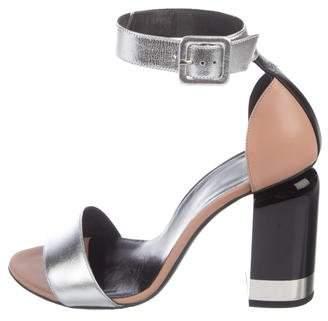 Pierre Hardy Metallic Ankle-Strap Sandals