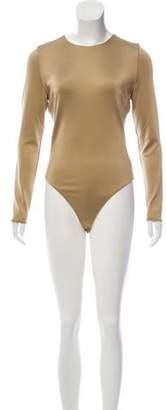Cushnie et Ochs Cutout Long Sleeve Bodysuit
