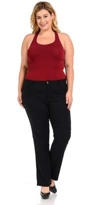 926 Women's Jeans - Plus Size - High Waist - Push Up - Bootcut - Style W1506-1