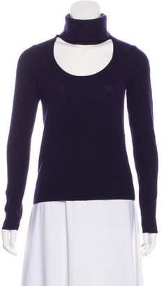 Diane von Furstenberg Wool Knit Turtleneck Top