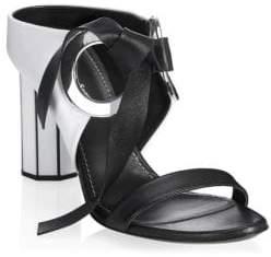 Proenza Schouler Moji Mirror-Heel Sandals