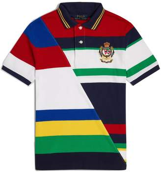 Ralph Lauren Cotton Stripe Polo Shirt