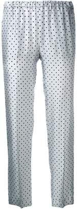 Alberto Biani polka dot trousers