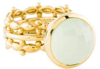 Elizabeth Showers 18K Chalcedony Bowl Ring