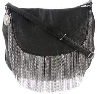 Stella McCartney Electra Metal Fringed Crossbody Bag