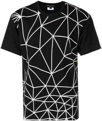 Comme des Garcons geometric print T-shirt