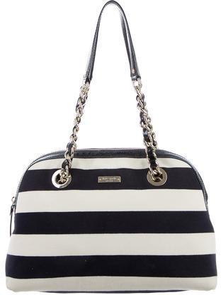 Kate SpadeKate Spade New York Striped Jersey Shoulder Bag