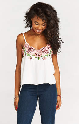 Show Me Your Mumu Wesley Top ~ Rosie Posie Embroidery