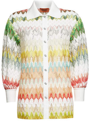 Missoni Knit Shirt with Cotton