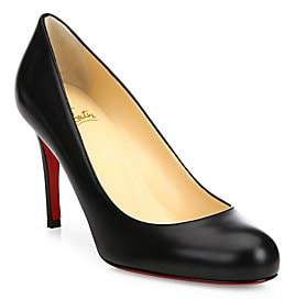 Christian Louboutin Women's Simple 85 Leather Pumps