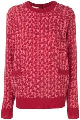 Marni cashmere contrasting trim cardigan