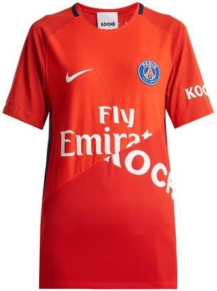 KOCHÉ X Paris Saint-Germain jersey T-shirt