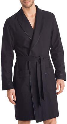 Hanro Men's Select Cotton Robe