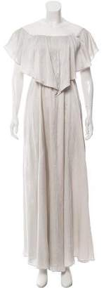 Hellessy Silk Maxi Dress w/ Tags
