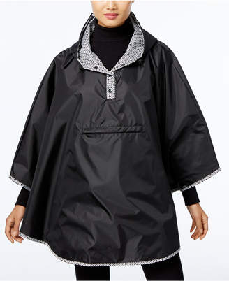 Totes Reversible Rain Poncho $60 thestylecure.com
