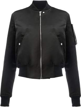 Rick Owens Glitter Flight bomber jacket