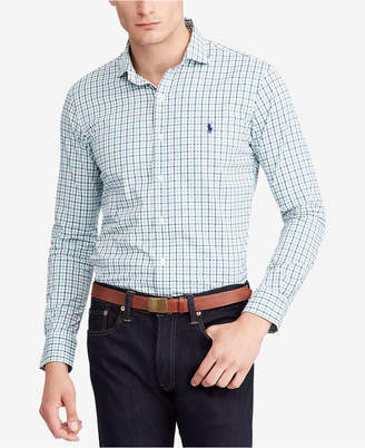 Polo Ralph Lauren Men's Classic-Fit Plaid Performance Twill Shirt
