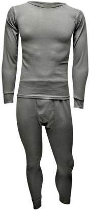 Luxury Divas Men's Thermal Top & Bottoms Long Johns Set