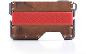 CNC Costume National Dango Products Dango Dapper EDC Wallet - Made in USA - Genuine Leather, Alum, RFID Blocking