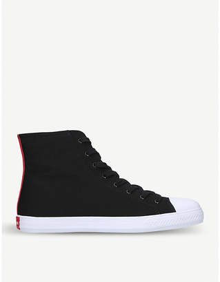 Calvin Klein Collection Constantine 135 canvas high-top trainer
