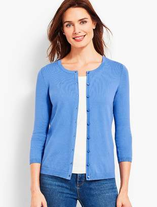 Talbots Three-Quarter-Sleeve Charming Cardigan