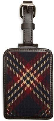 Brooks Brothers Tartan Luggage Tag