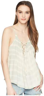 Billabong Illusions Of Tie-Dye Woven Top Women's Clothing