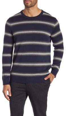 Kenneth Cole New York Ombre Striped Sweater