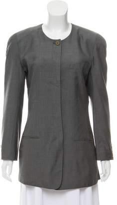 Calvin Klein Collection Structured Short Coat
