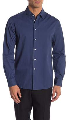 Saturdays NYC Reed Solid Button Up Shirt