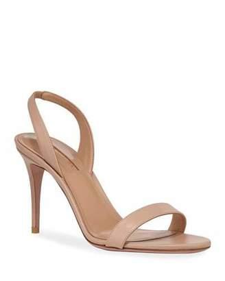 Aquazzura So Nude 85mm Calf Sandals