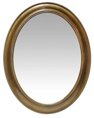 Infinity Instruments Gold Sonore Wall Mirror - 24W x 30H in.