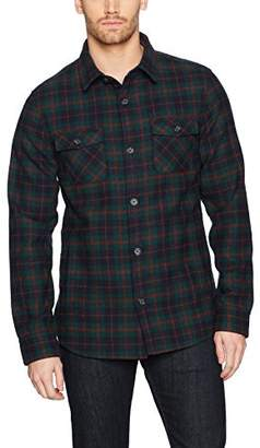 Original Penguin Men's Plaid Wool Blend Unlined Jacket