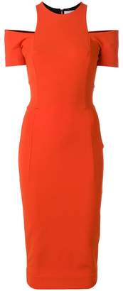 Victoria Beckham cut-out fitted dress