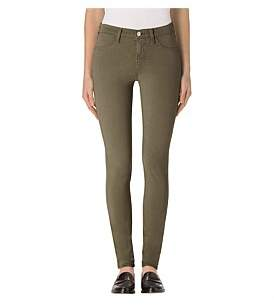 J Brand Luxe Sateen Mid Rise Super Skinny