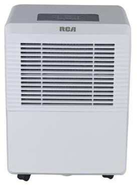 RCA Two-Fan Speed Dehumidifier- 50 Pt.