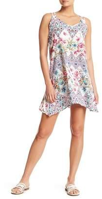 J Valdi Criss Cross B Cover-Up Dress