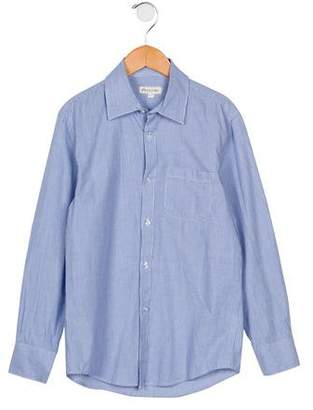 Appaman Fine Tailoring Boys' Striped Button-Up Shirt