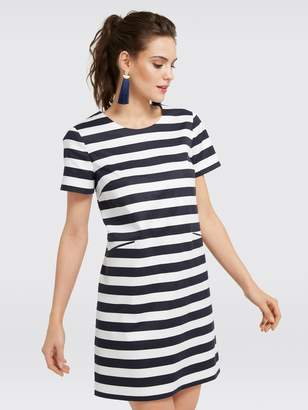 Draper James Stripe Shift Mini Dress