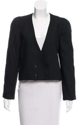Christian Dior Double-Breasted Wool Blazer