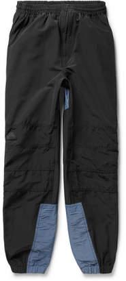 Cav Empt Two-Tone Cotton-Blend Gabardine Sweatpants