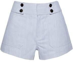 Derek Lam 10 Crosby Cotton-Blend Twill Shorts