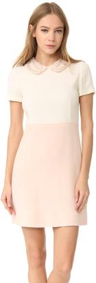 Amelia Toro Wool Crepe Dress $975 thestylecure.com
