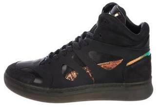 Alexander McQueen x Puma Move Leather Sneakers w/ Tags