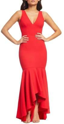 Dress the Population Demi High/Low Mermaid Hem Evening Dress