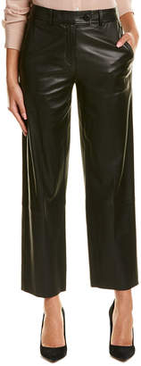 Helmut Lang Leather Crop Pant