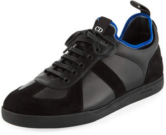 Christian Dior Men's Two-Tone Low-Top Sneakers