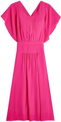N°21 N21 Draped Dress with Silk