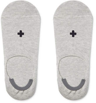 Beams Mélange Wool No-Show Socks