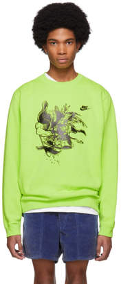 Nike ERL Green Edition Witch 4 Sweatshirt